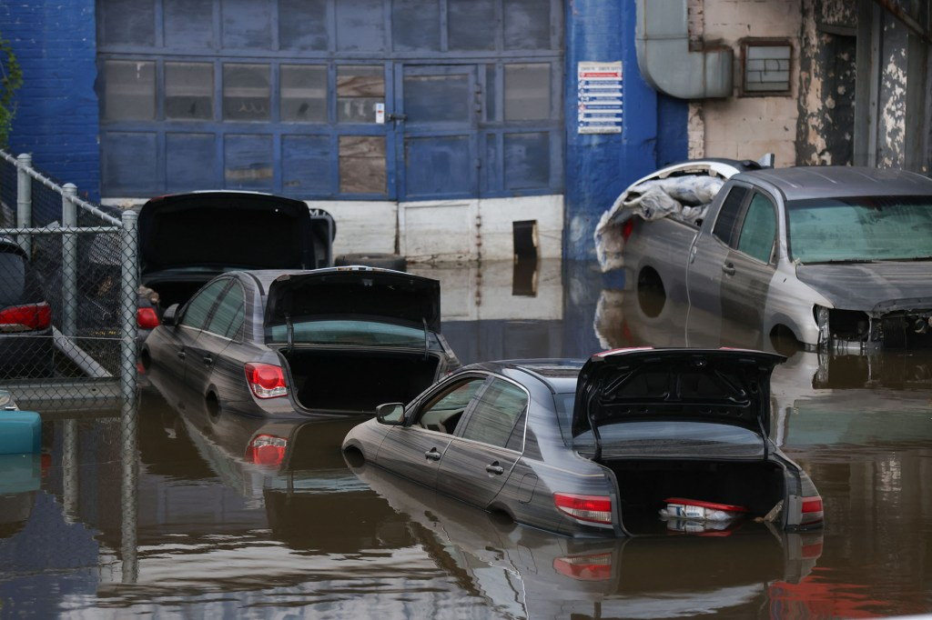 Schumer said the $1.2 trillion bipartisan infrastructure bill and $3.5 trillion spending plan would go towards helping cities prepare for flooding.
