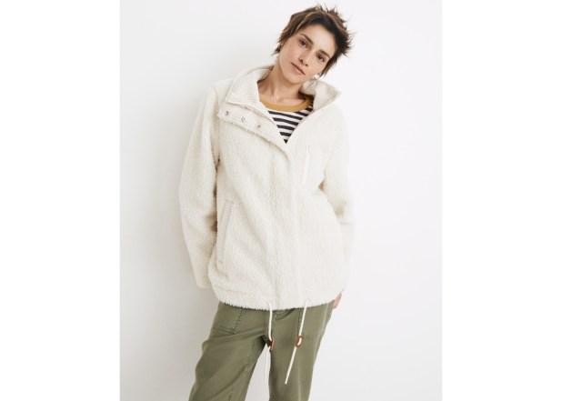 (Re)Sourced Sherpa Zip Jacket