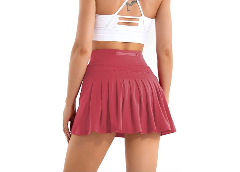 Betaven Pleated Tennis Skirt