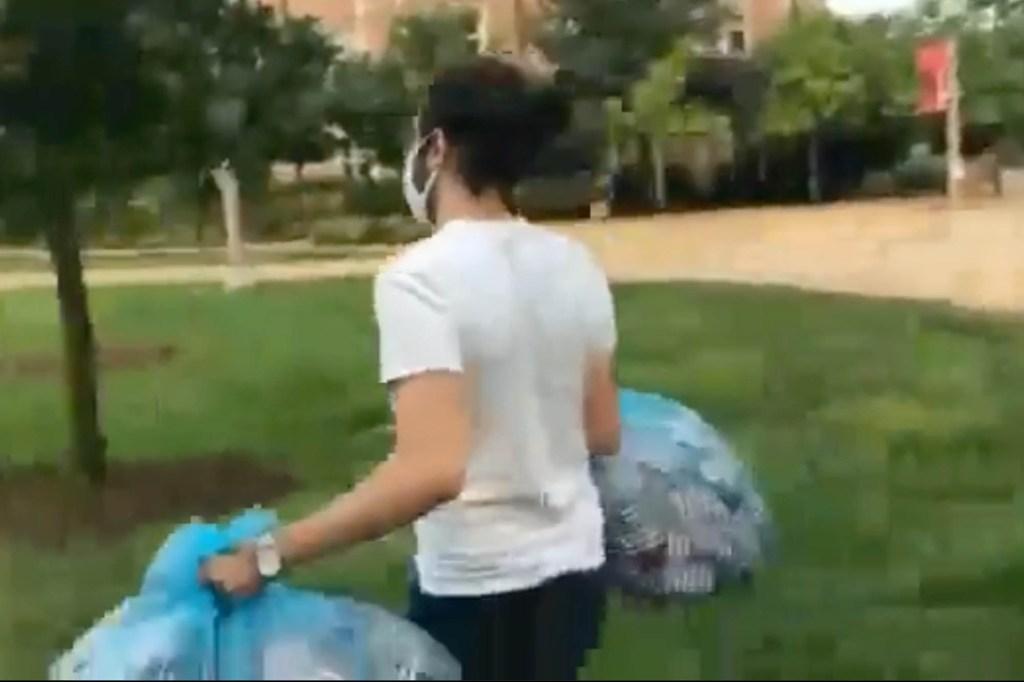 Washington University student threw away 2,977 American flags for 9/11