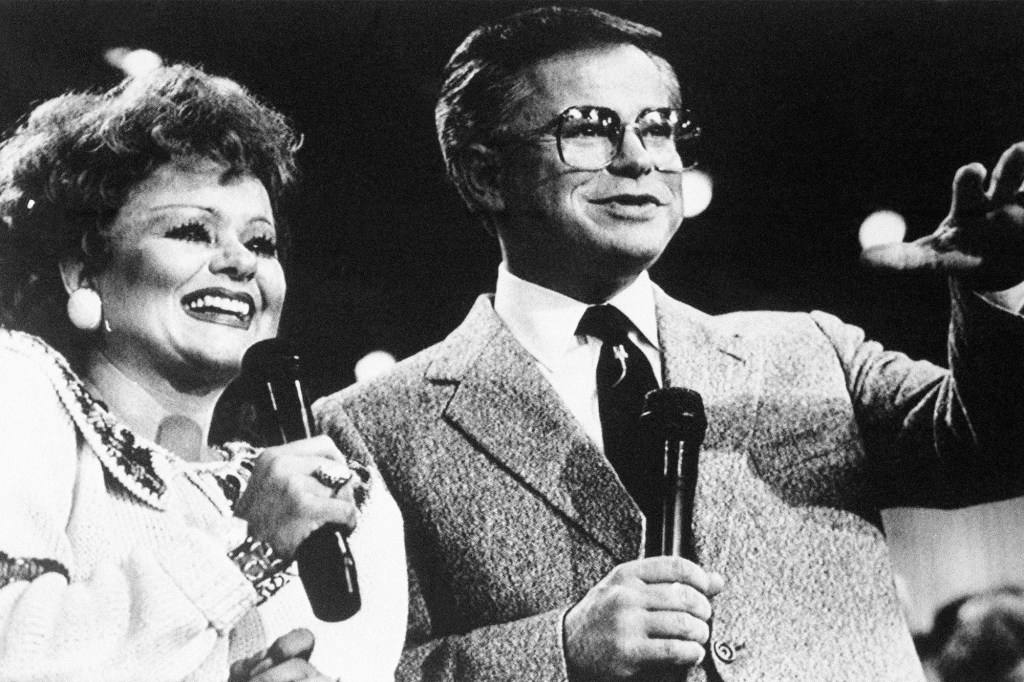 Tammy Faye and Jim Bakker.