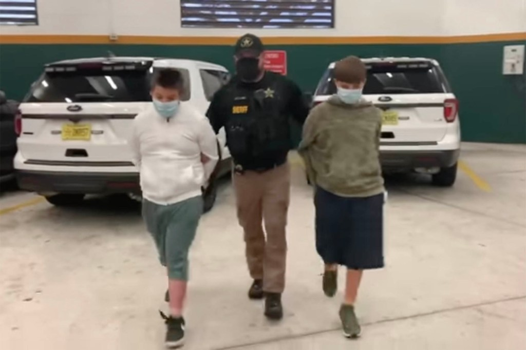 Philip Byrd (left) and Conner Pruett (right) have been have been charged with conspiracy to commit a mass shooting at Harns Marsh Middle School.