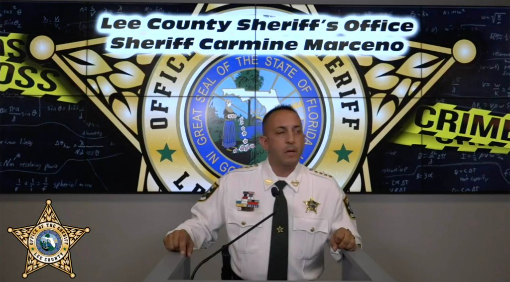 According Lee County Sheriff Carmine Mareno, the teens were researching the Columbine shooting as well as how to make pipe bombs.