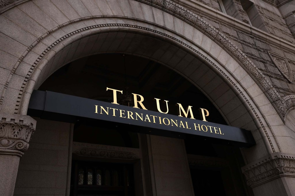The Trump International Hotel is seen on June 02, 2021 in Washington, DC.