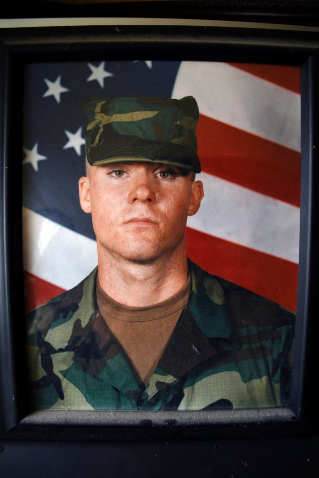 Army Ranger SPC John Edmunds, along with another soldier, crashed a Black Hawk helicopter on a search and rescue mission in Pakistan in October 2001.