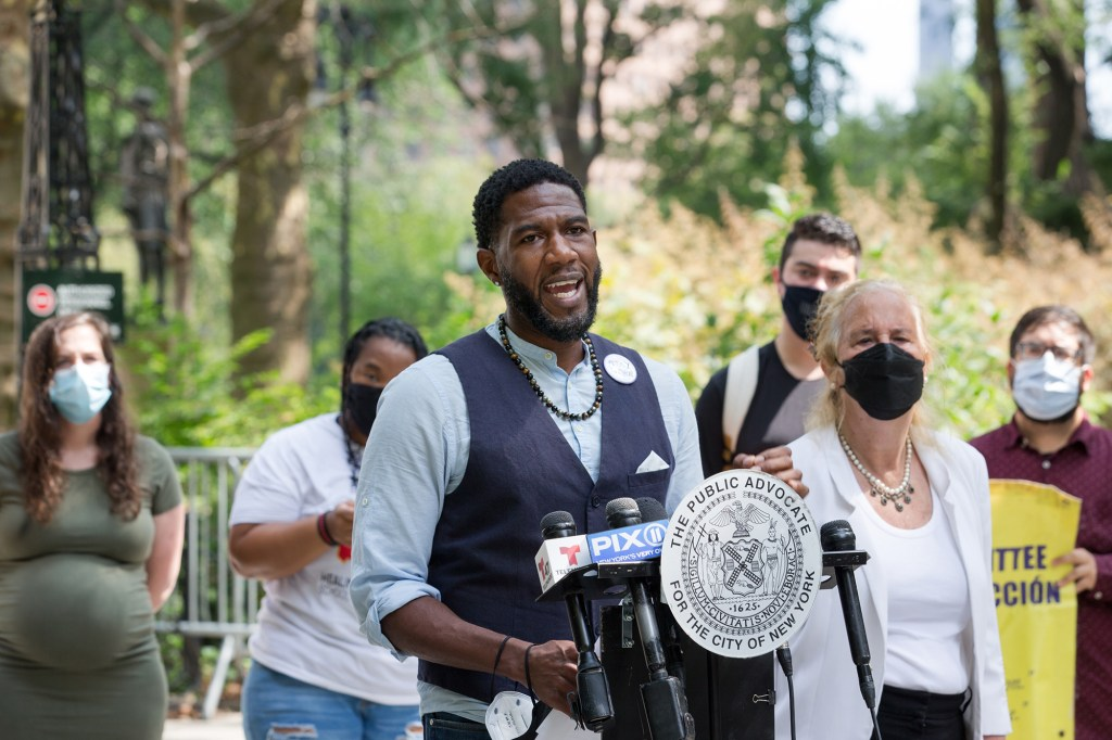 Public Advocate for the City of New York Jumaane Williams