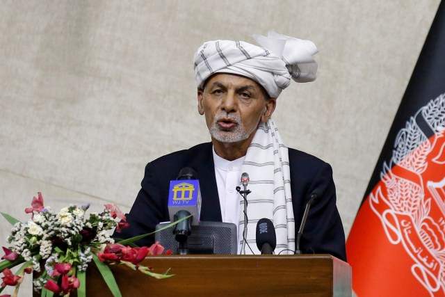 The former bodyguard of former Afghan president Ashraf Ghani claims he has video proof that the politician stole millions of dollars before fleeing the country.