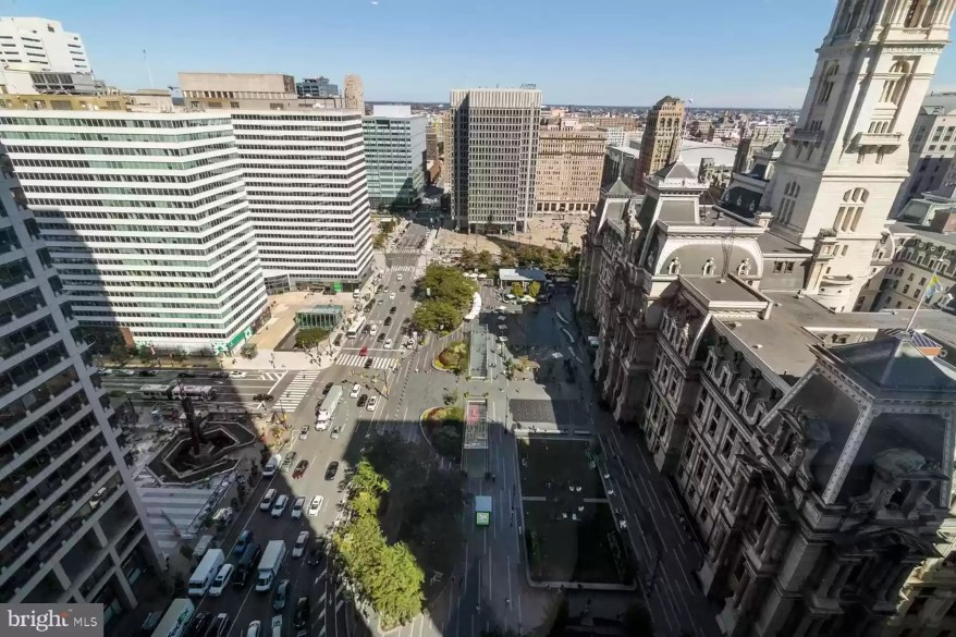 The Philly home looks over main line Philadelphia.