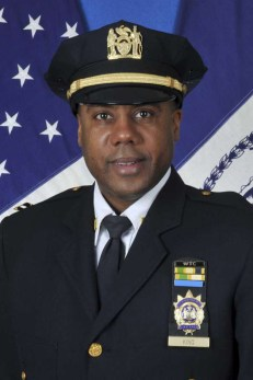 NYPD Deputy Inspector Michael King
