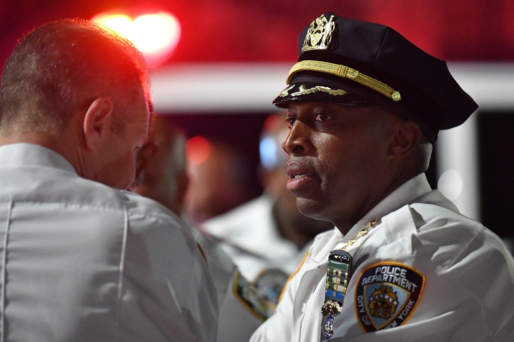 NYPD Chief of Department Rodney Harrison