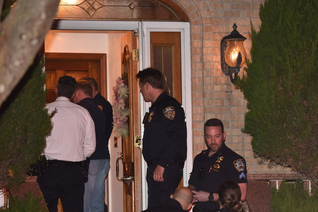 A male shot his relatives at 134 Burbank Ave.Staten Island.