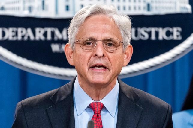 Attorney General Merck Garland.