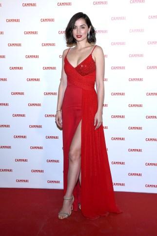 Ana de Armas on the red carpet.