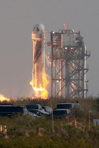 Jeff Bezos' Blue Origin launch