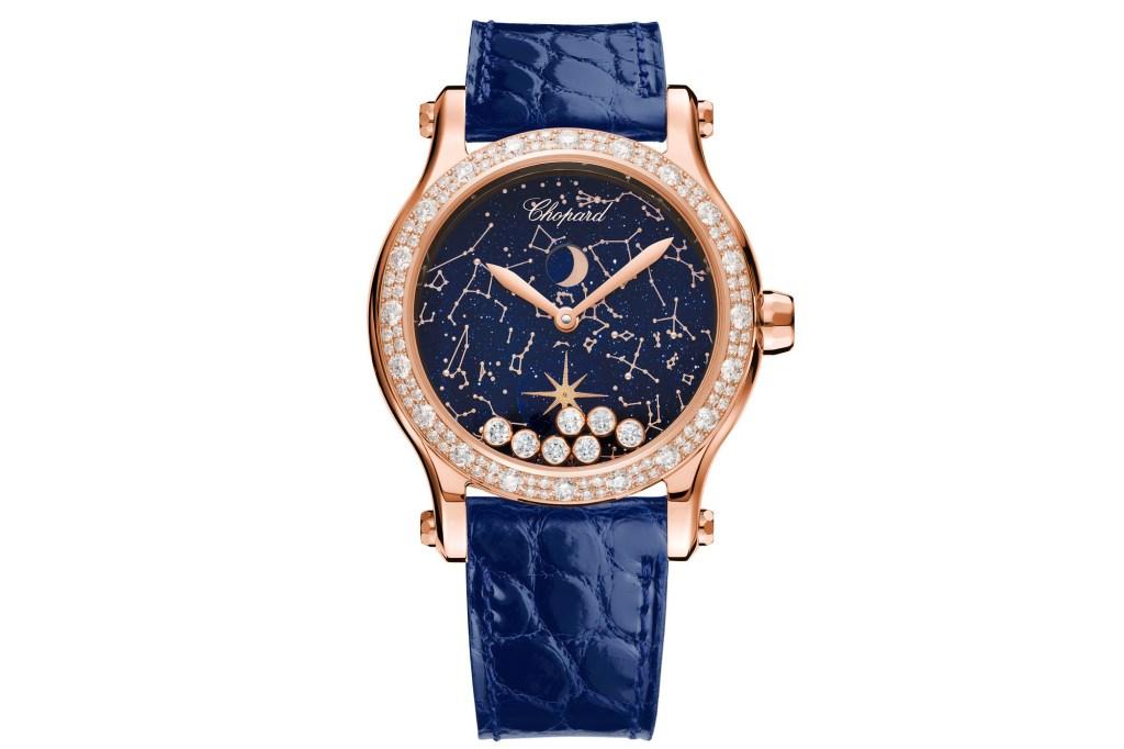 A shot of Chopard's Happy Moon watch.