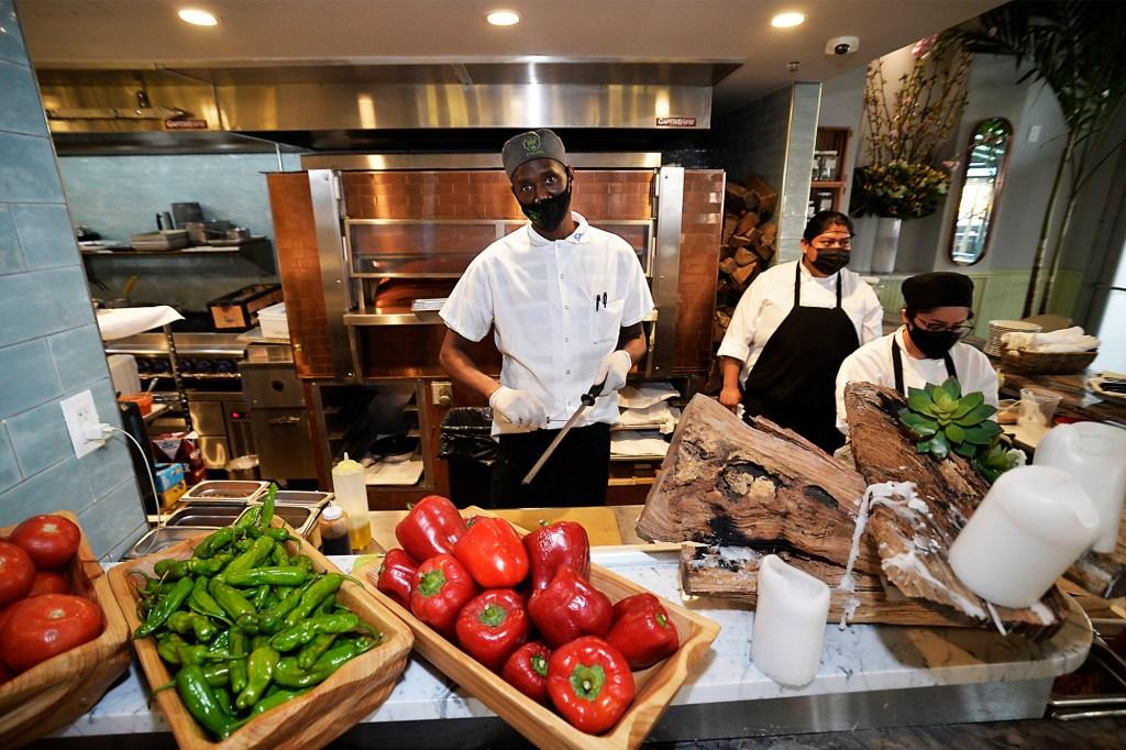 The Upper West Side Israeli restaurant Dagon is popular.