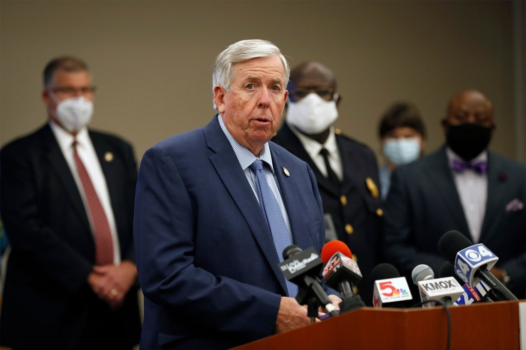 Missouri Gov. Mike Parson declined to give clemency to Johnson.