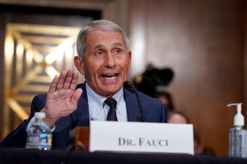 White House chief medical advisor Dr. Anthony Fauci