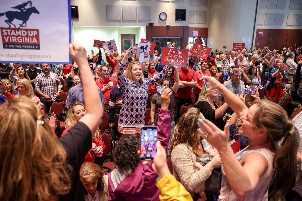 A Loudoun County School Board meeting was halted because the crowd refused to quiet down in Ashburn, Virginia.
