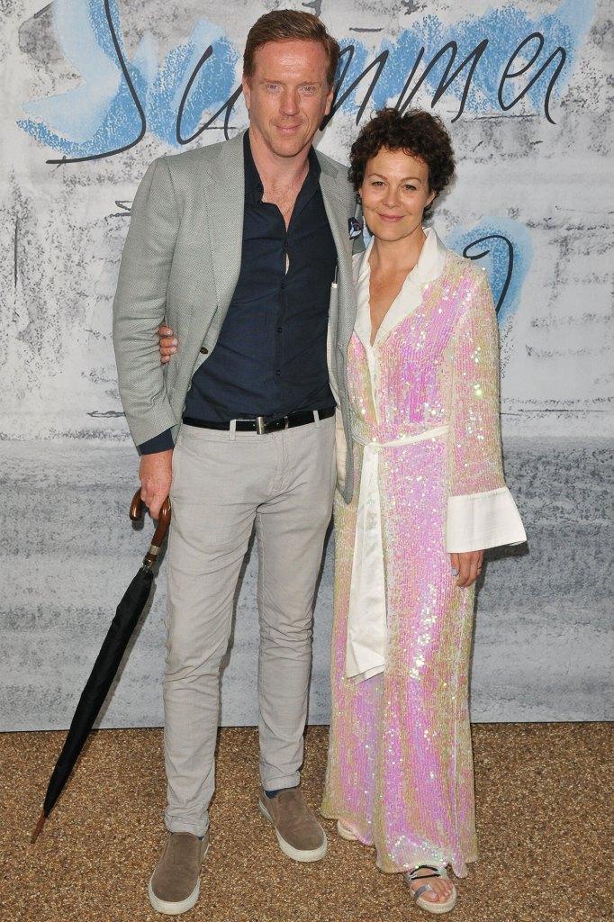 Damian Lewis and Helen McCrory.