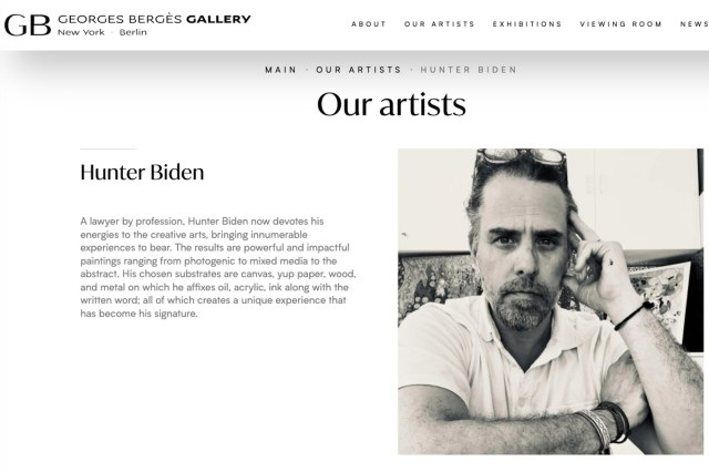 A federal COVID loan to the art gallery repping Hunter Biden more than doubled after his father took office