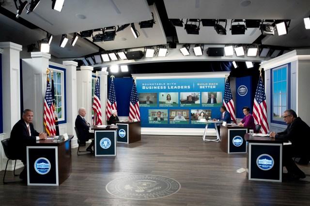 White House set.