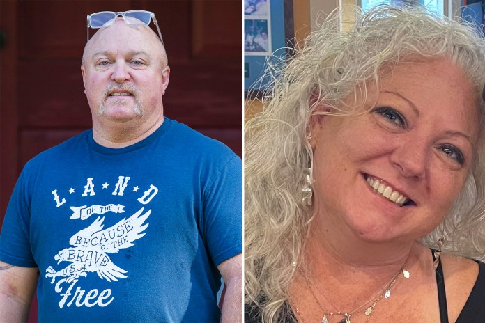 John Mark Spears (left) and Leigh Ann Wrather (right), the half-siblings of Jame Spears, claim June — Britney's grandfather — mistreated his wives.