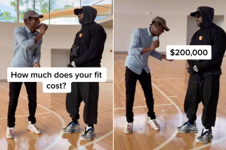 Kanye West tells Chris Smoove he doesn't know cost of outfit — just his $200K watch