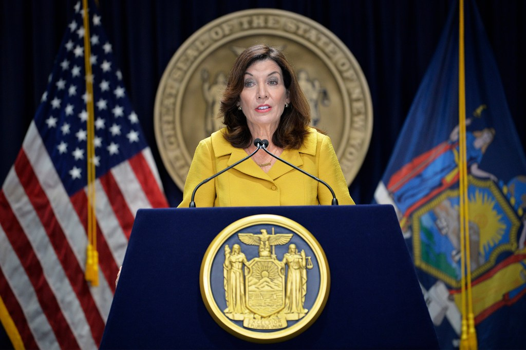 Gov. Kathy Hochul had a meeting with families who lost loved ones to COVID-19 in nursing homes.