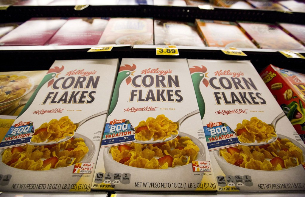 Roughly 1,400 US Kelloggs factory workers went on a nationwide strike over pay and benefits issues.