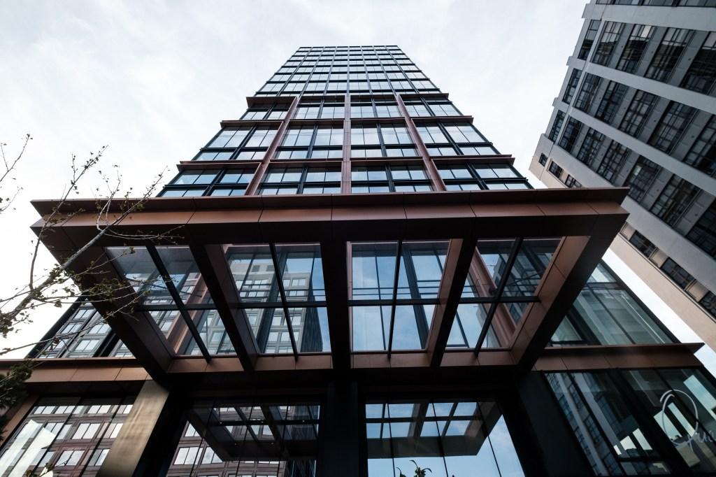 Exterior shot of the Quay Tower.
