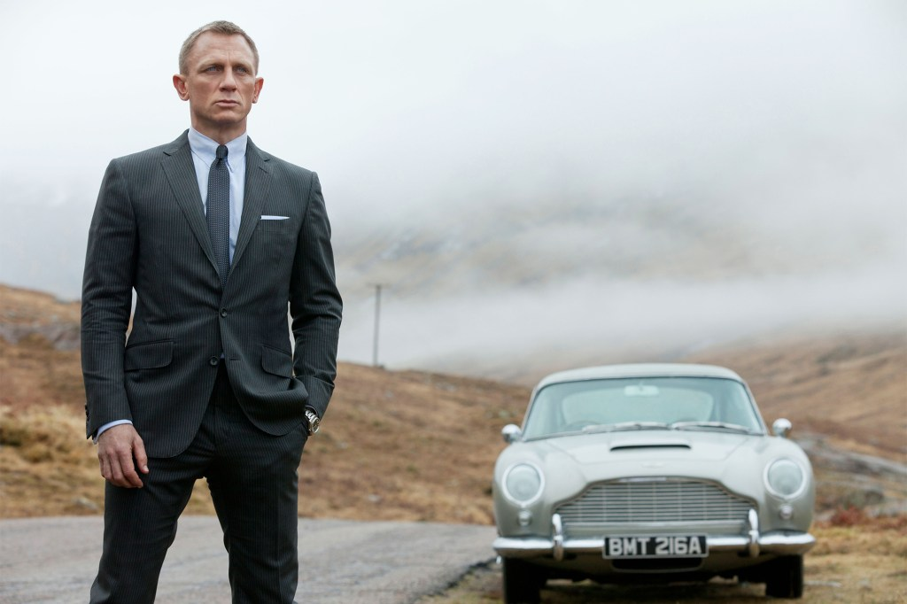 """Daniel Craig goes back to Bond's roots in """"Skyfall."""""""