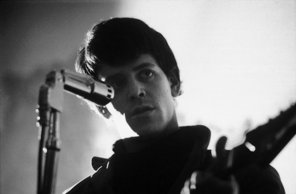 Lou Reed (above) gave Andy Warhol the axe.
