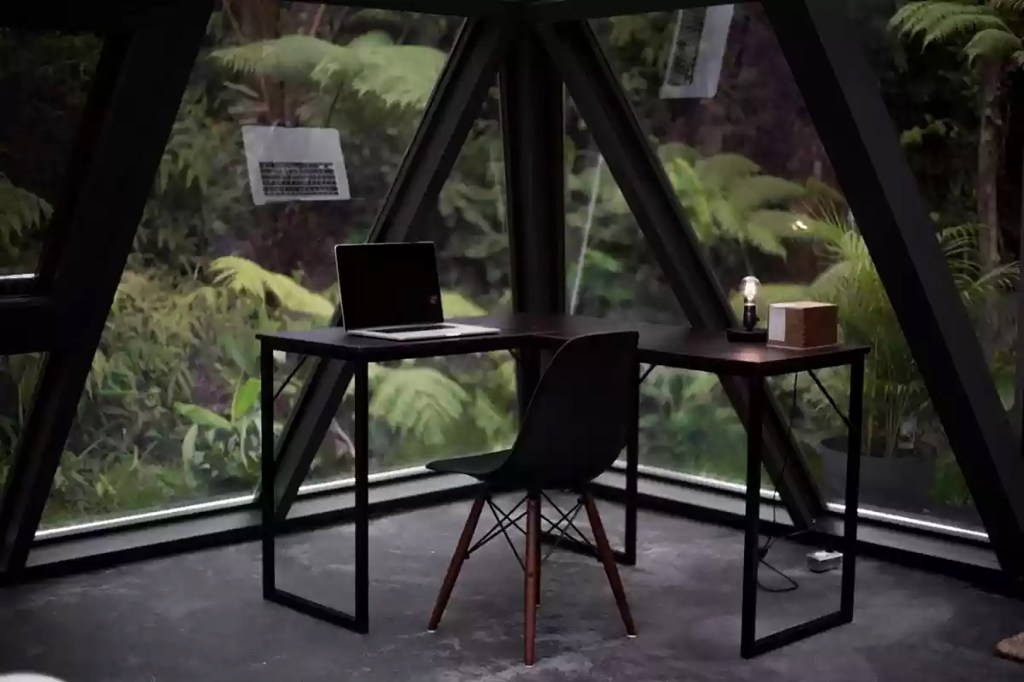 The office/creative space.