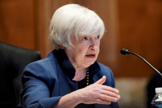 Treasury Secretary Janet Yellen.