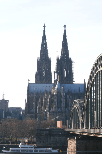 I have left a piece of me in Cologne, Germany