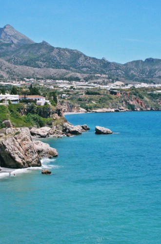 Visiting the lovely Nerja in Spain
