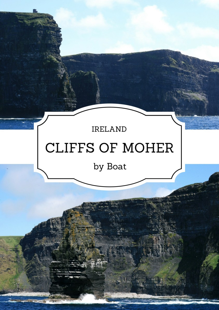 Cliffs of Moher by boat