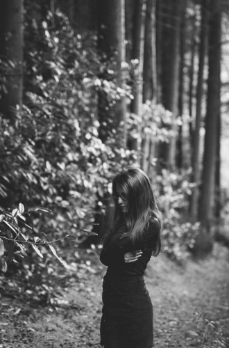 Her heart belongs to the forest