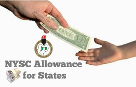 NYSC State Allowance For All States In Nigeria (2019)