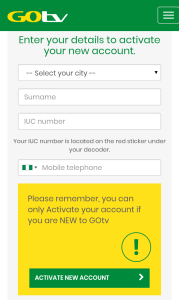 How To Activate Your GOtv Decoder - Complete Guide.