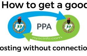 How to get a good PPA posting without connection