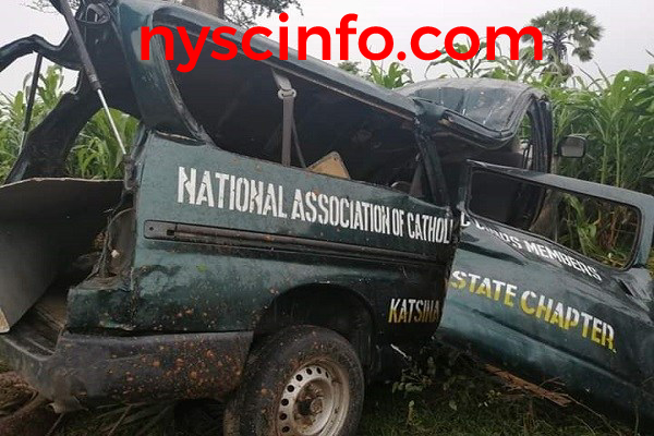Two NYSC NACC members dies in Katsina road accident
