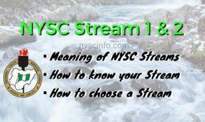 Nysc streams