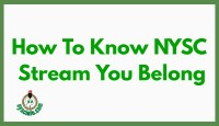 How To Know Which NYSC Stream You Belong
