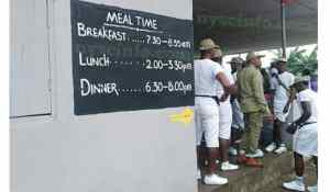 Nysc camp food