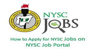 Nysc recruitment portal