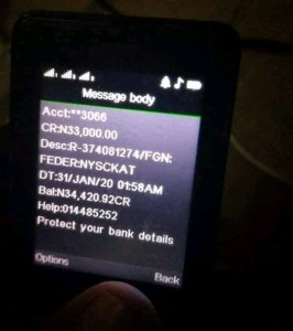 Nysc new allowance is N33,000