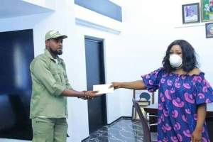 Corps Member Donates Allowance