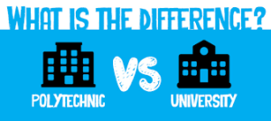 University Versus Polytechnic